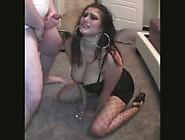 Tight Black Dress Posing Sucking Slapping Dirty Talk Whore Tom A