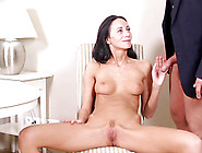 Sexy Veronika Fucks With Bald Man