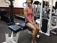 Asian Fbb Training Biceps