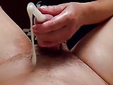 Full length bukkake pee