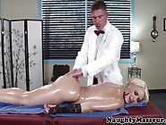 Real Masseur Spreads Bimbos Butthole