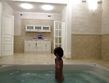 Huge Squirt On The Jacuzzi