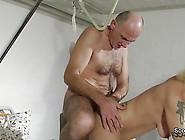 German Old Grandpa Seduce His Teen Nurse To Fuck