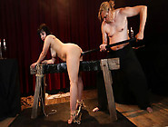 Wild Bdsm Session With Submissive Chubby German Slave Pina Delux