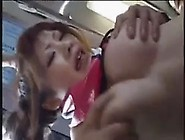 Japanese Girl Groped And Fucked In Bus