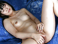 Innocent And Cute Japanese Model Is Showing Her Shaved Cunt