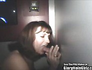 Cute Brunette Cock Sucker In Glory Hole Video