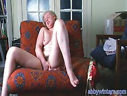 Blonde With Hairy Pussy Masturbates Until She Orgasms