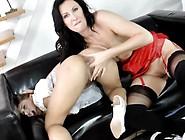 Stocking Brit Rims Slut