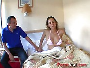 Pregnant Enceinte 6 Mois Exhib Hotel !! French Amateur
