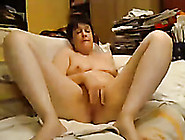 Naughty Mature Wife Cums Multiple Times While Fucking Herself Wi