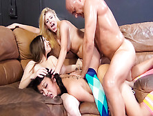 Jayden Lee,  Allie James,  Natalie Moore,  Ben English In Squirt So