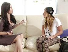 Dj Carter Cruise Lesbian Fuck With Sexy Milf Jelena Jensen