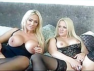 British Slut Lucy In Lesbian Stockings Action With Toys