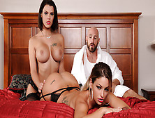 Kissa Sins & Peta Jensen & Johnny Sins In Brazzers Heavenly Bodi