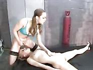 Few Lesbian Mistress Squirt On Slave's Face