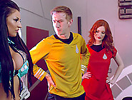 Captain Kirk's Dick Is Quite Big And These Girls Would Like To R