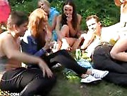Hot Students In Hardcore Orgy Party
