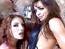 Vanessa And Brandi Are Two Lesbians Who Also Love The Stiff Cock