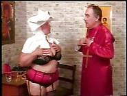 Priest Slapping That Fat Nun's Ass