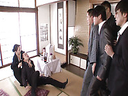 Japanese Slut Gets Her Pretty Face Covered In Hot Cum
