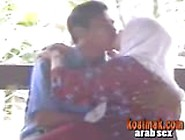 Making Out With An Old Arab Hijab Bitch