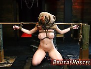 Monster Cock Bdsm Now She's Broke,  Stranded And Has No Id!