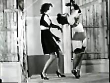 Rare 1950 Bondage Fetish Stag Film