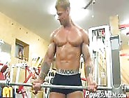 Mazing Blonde Bodybuilder
