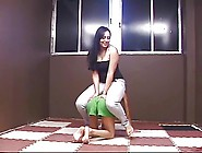 Beautiful Brazilian Goddess Playing With Her Pet Slave Girl