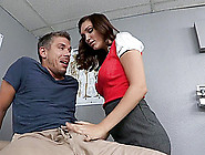 Dirty Doctor In Stockings And Garter Belt Wants Anal Sex With Pa
