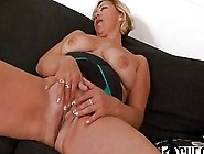 Blonde Granny With Big Swaying Tits Enjoys While Black Stud Stre
