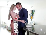 Hot Housewife Shawna Lenee Cooks Up A Sexy Recipe For Her Man