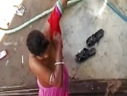 Indian Village Lady Bathing Publically- Rekhamalik. Co. In