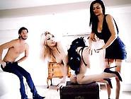 Horny Maid Tamara Grace Spanked By Kinky Jasmine Jae