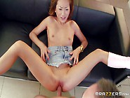 Skinny Asian Kitty Alina Li Gets