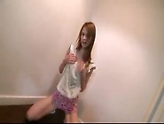 Redhead Teen Striptease And Nude Dance