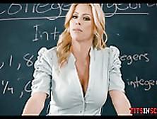 Fucking His Hot Blonde Math Teacher