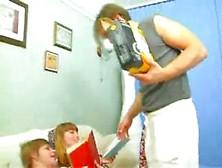Russian Bigtits Elena Threesome Family Sex