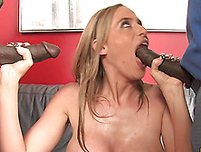 Sexy Blonde Kylie Worthy Gets Her Vagina Smashed In Mmf Clip