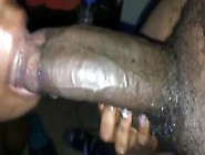 Black Girl Getting Her Mouth Stretched By Extreme Bbc