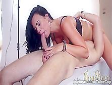 Crazy Pornstar In Fabulous Brunette,  Big Tits Sex Scene