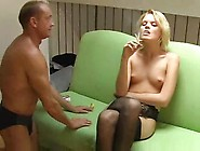 Femdom Nylon Foot Worship Ass Take Up With The Tongue Human Asht