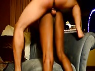 Black Girl Triple Creampied White Guy