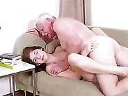 Passionate Teen Likes To Fuck Much Older Guys,  Because They Know