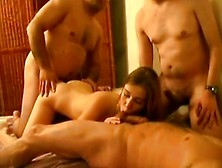 Live Cams - 18Yo Teen In Bed With 4 Much Older Men