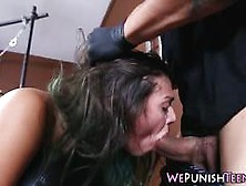 Kinky Teen Rough Fucked Bdsm