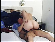 Hairy Grandma Is Fucked Hard By Grandson