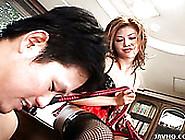 Lustful Japanese Babe Hotaru Akane Gives A Zealous Tongue Fuck