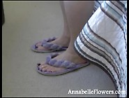 Annabelle Flowers Foot Phone Sex